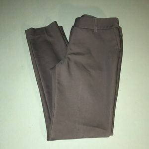 Express Columnist slim fit pants. Grey and size 0R